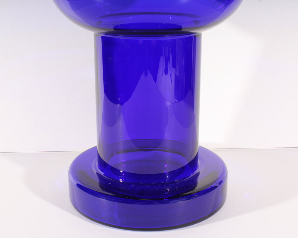Ritzenhoff for Sieger Designs German Blue Cobalt Vase