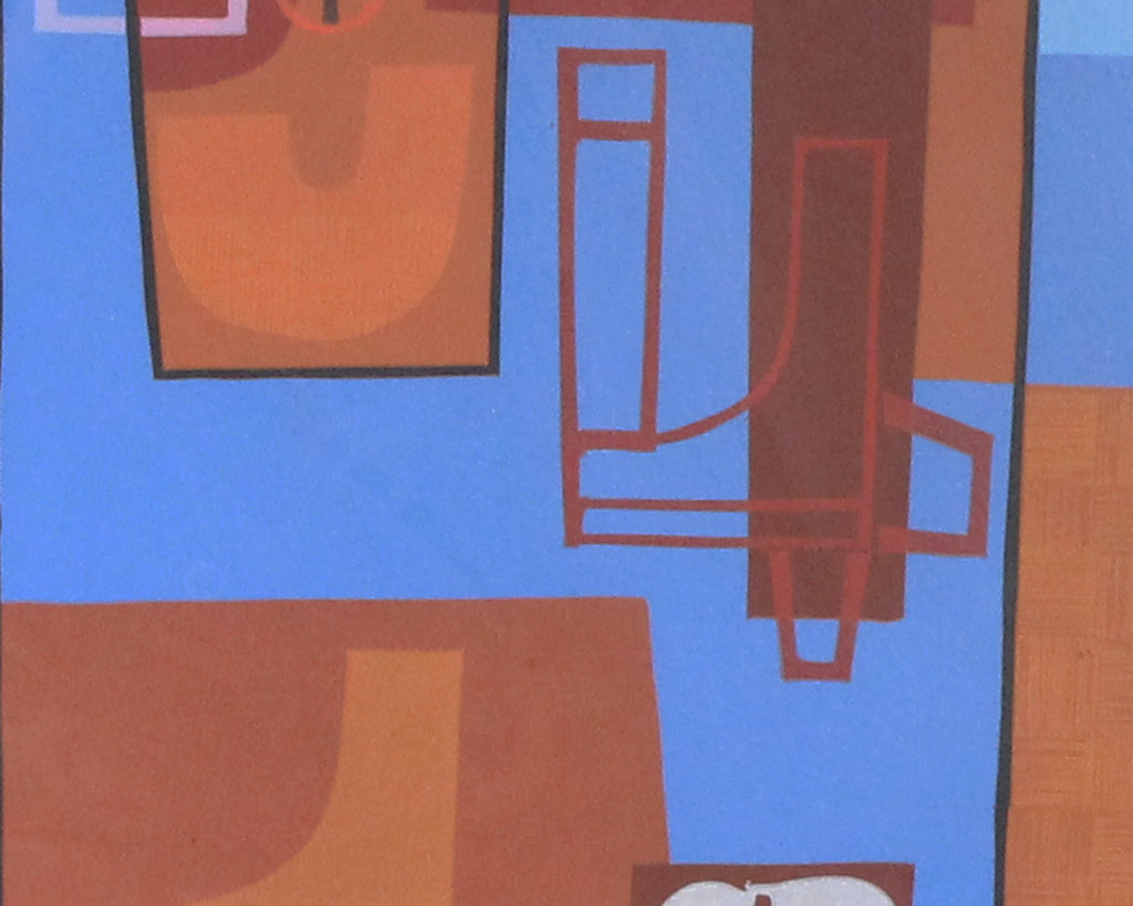 David Storey 1988 Signed Limited Edition Abstract Serigraph