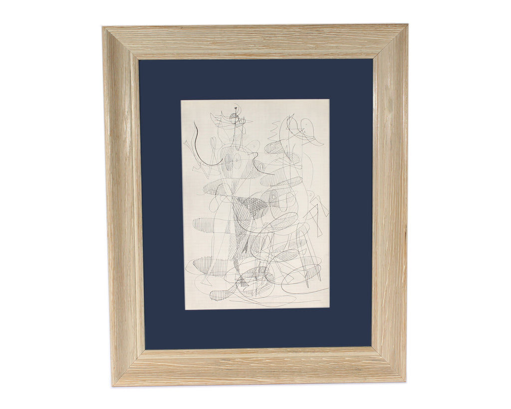 "Georges Braque 1955 Lithograph from ""Derriere le Miroir,"" Nos. 71-72"