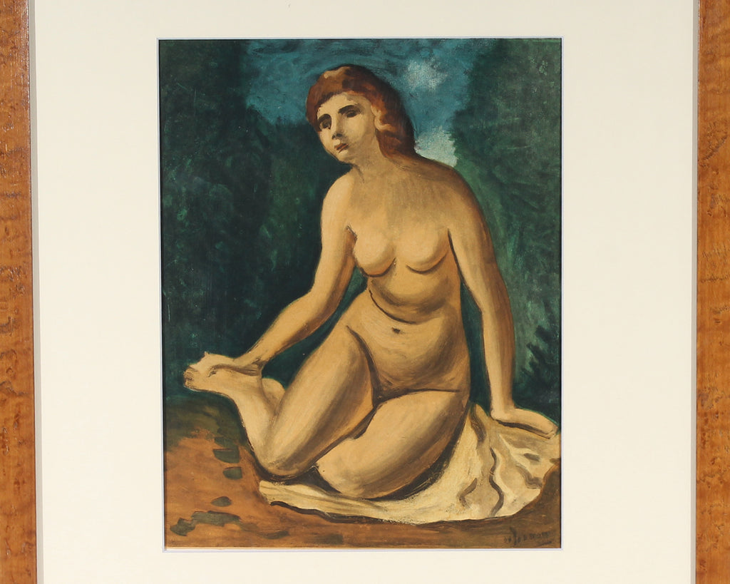 "André Derain 1958 Lithograph from ""Derriere le Miroir,"" No. 111"