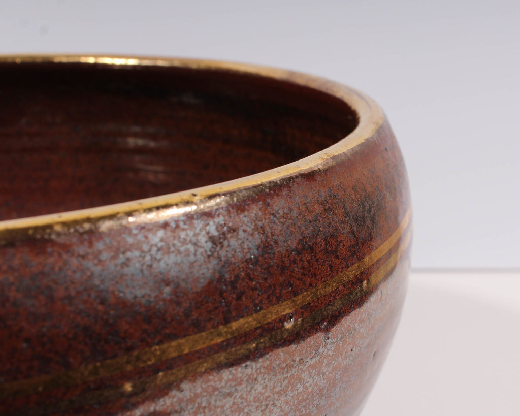 Dennis Kirchmann Signed Studio Pottery Bowl