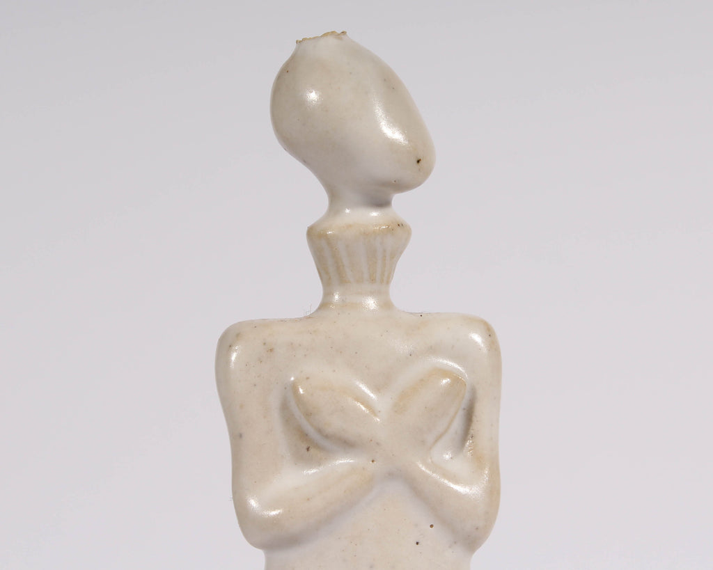 Nancy Nevergole 1999 Signed Studio Pottery Abstract Nude Sculpture