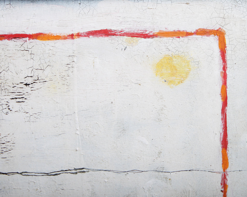 Jane Lanier 1972 Non-Objective Oil on Board Painting