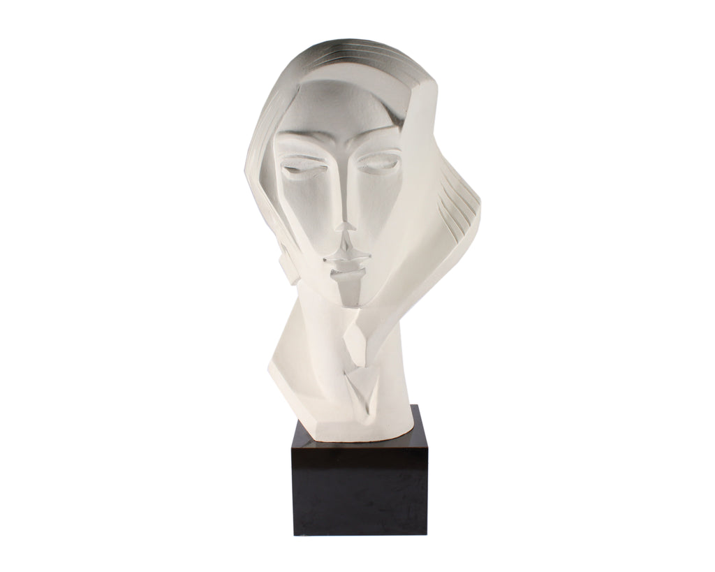 David Fisher 1987 Art Deco Modernist Style Bust for Austin Productions