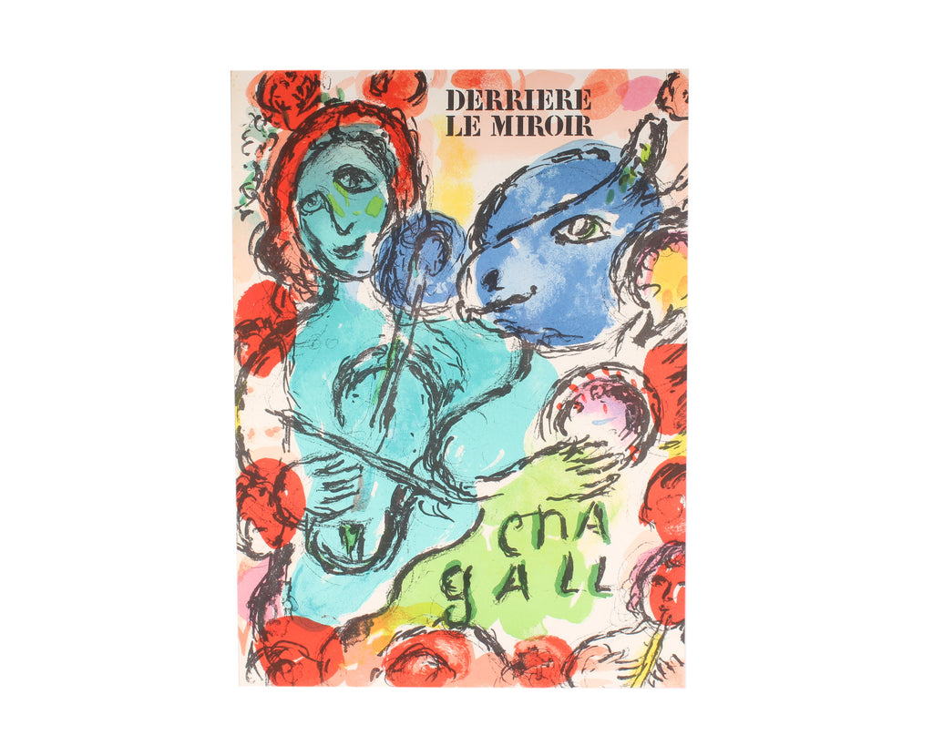 "Marc Chagall 1972 Lithograph from ""Derriere le Miroir,"" No. 198"