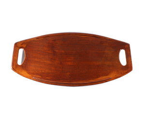 Jens Quistgaard for Dansk Mid Century Modern Staved Surfboard Tray