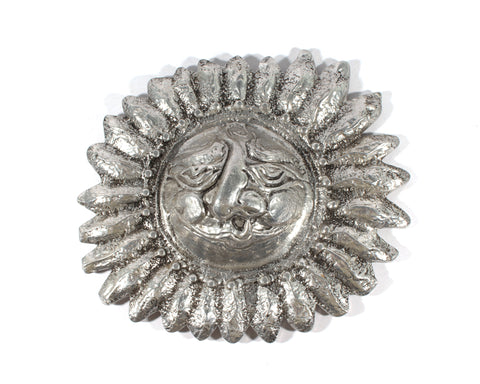 Donald Drumm Cast Metal Sun Wall Accent