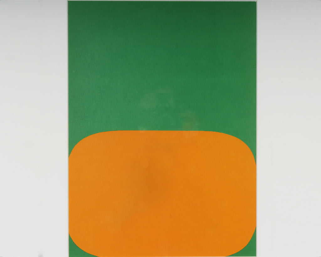 "Ellsworth Kelly Lithograph 1964 from ""Derriere le Miroir,"" No. 164"