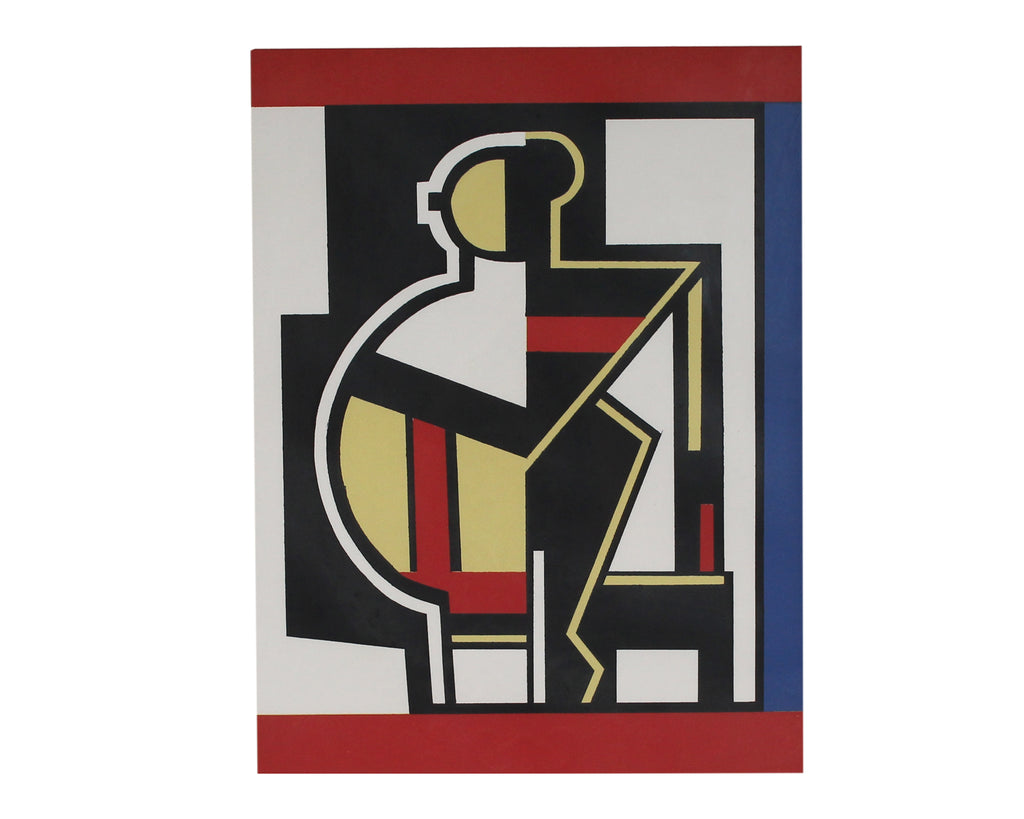 Fernand Léger Signed Limited Edition Serigraph of an Abstract Figure