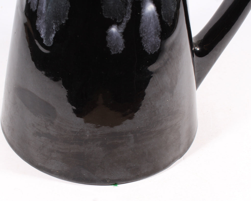 Royal Haeger Mid-Century Black Ceramic Pitcher