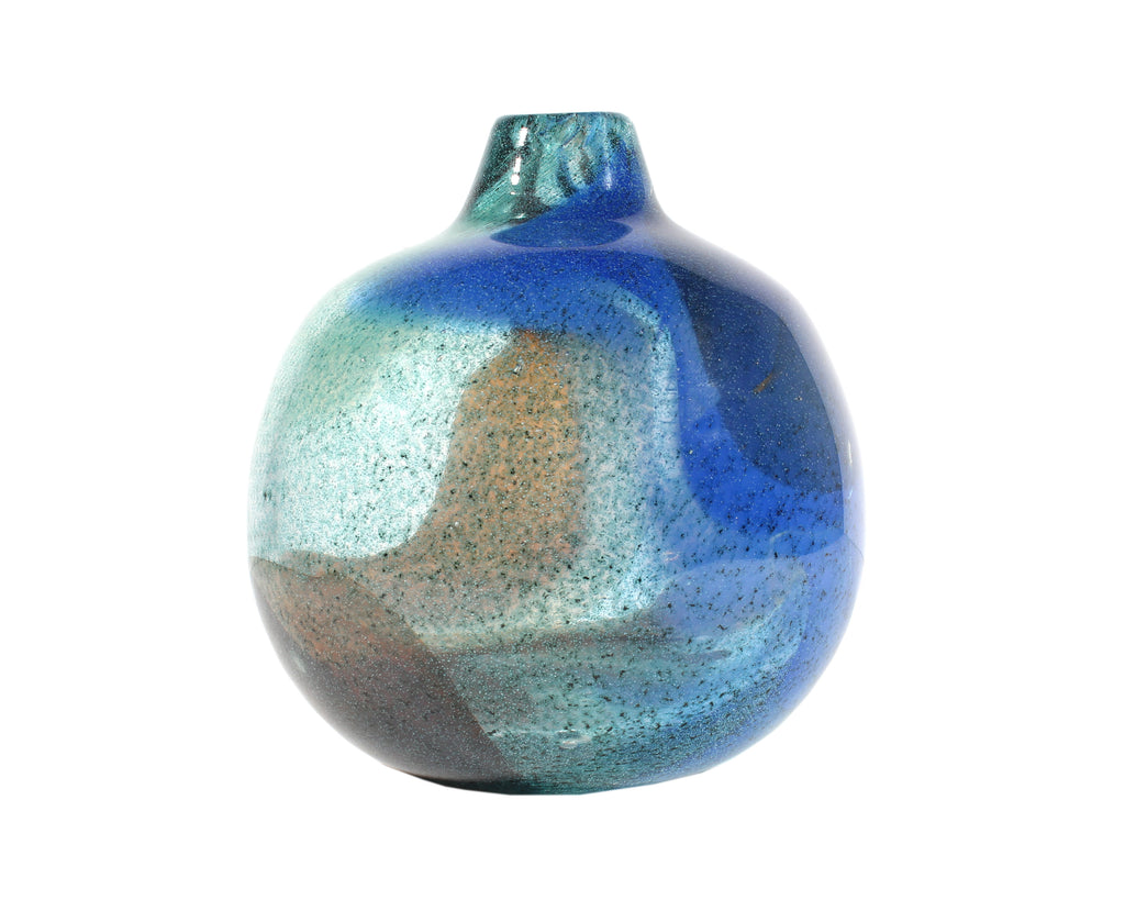Bengt Orup for Johansfors Swedish Art Glass Vase