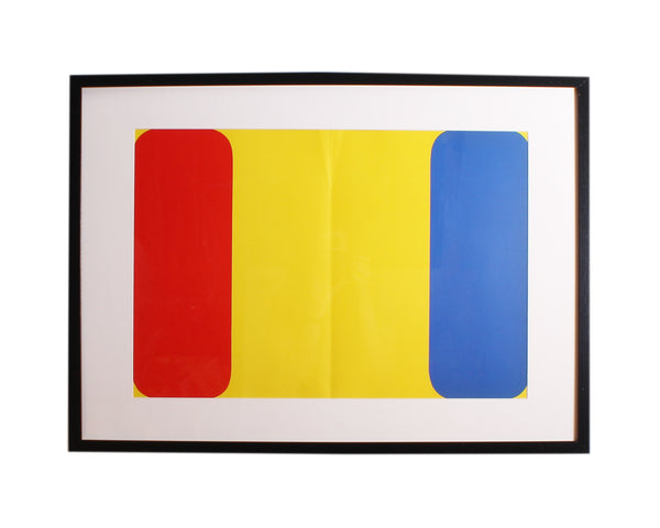 "Ellsworth Kelly Lithograph 1964 ""Derriere le Miroir,"" No 164"