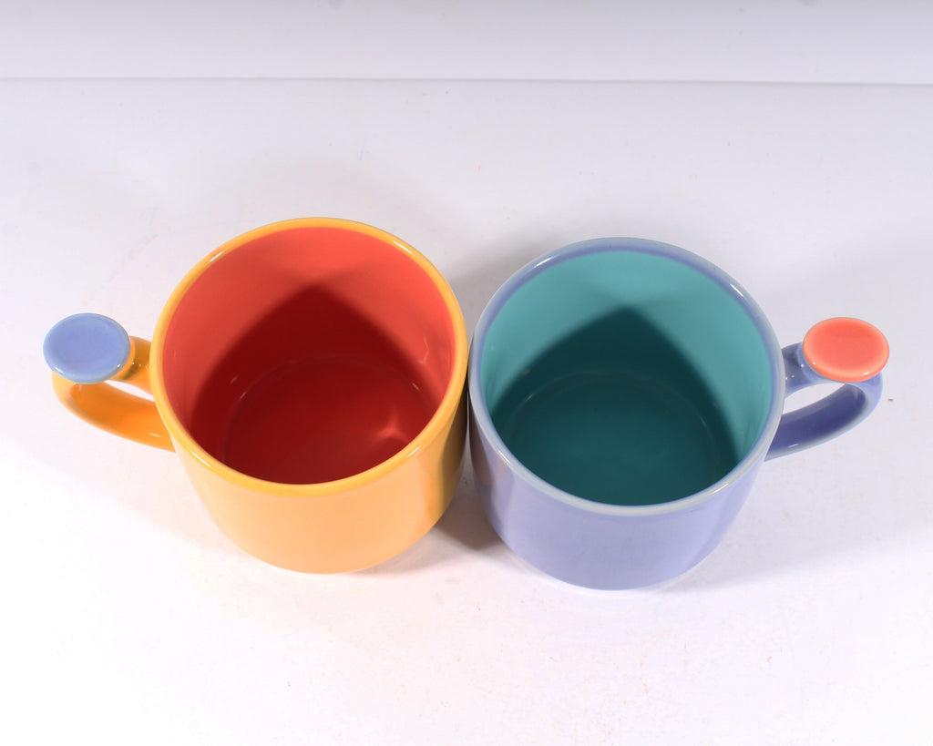 Lindt-Stymeist Colorways Memphis Style Mugs