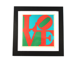1960s Robert Indiana LOVE Lithograph from the Indianapolis Art Museum