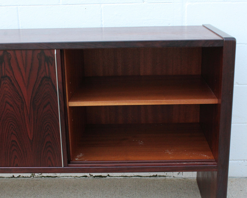 Lyby Møbler Danish 1979 Rosewood Credenza