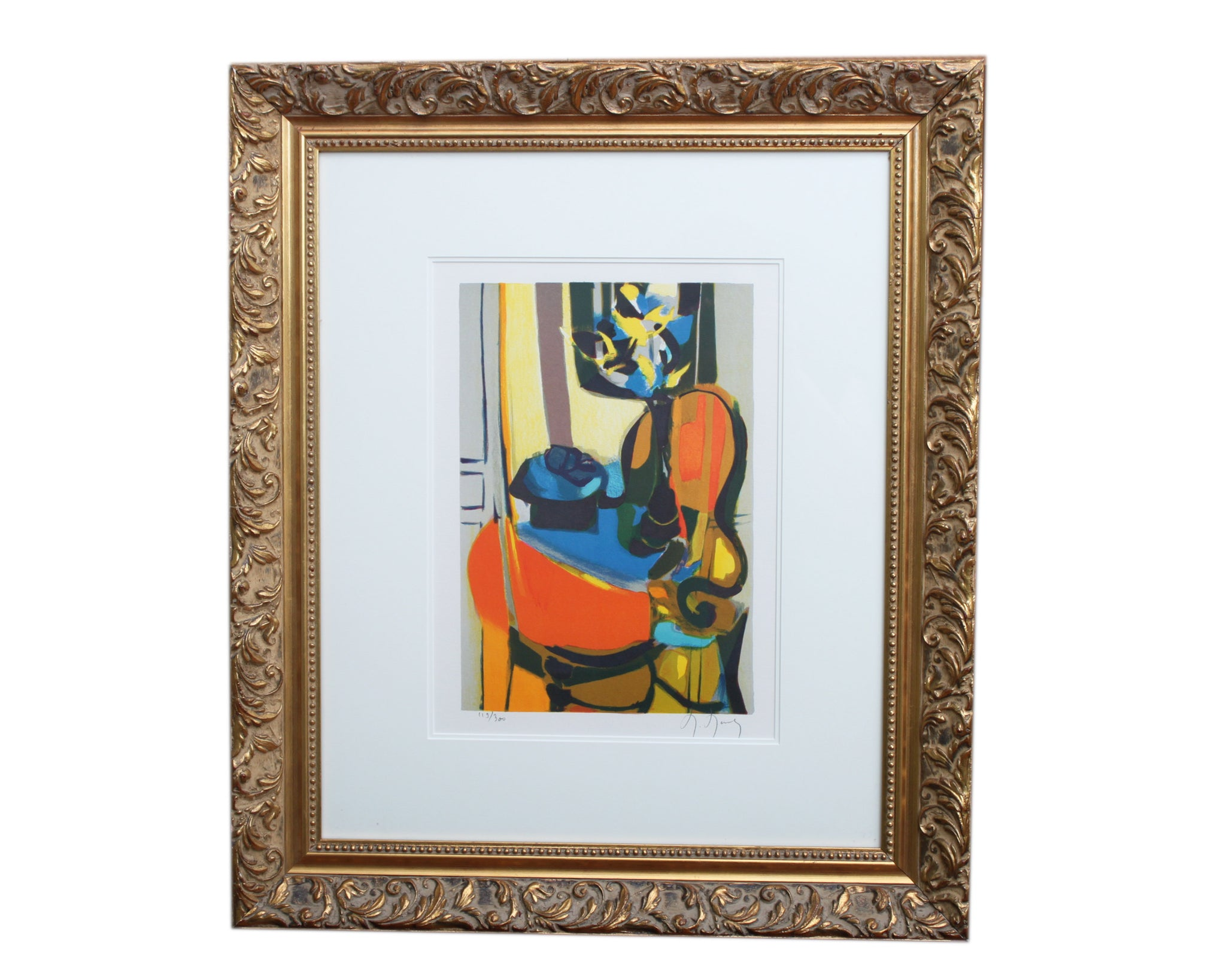 Marcel Mouly Signed Limited Edition Still Life Lithograph