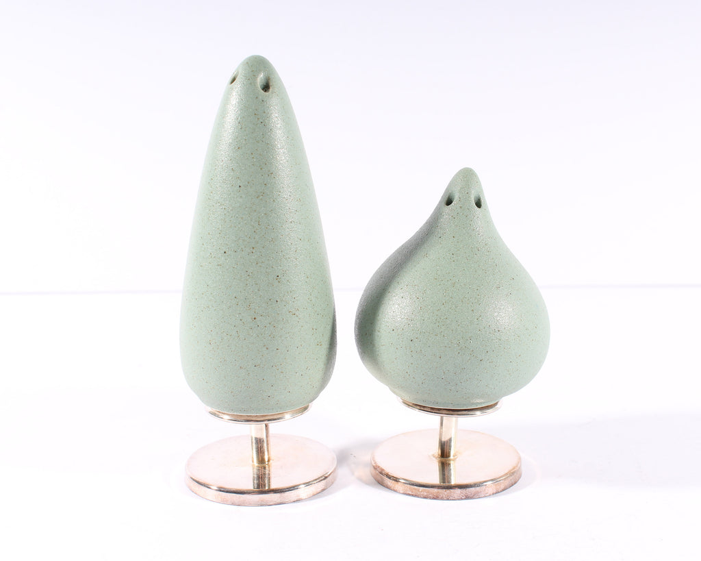 "Marco Zanini for Cleto Munari ""Gli Alberi"" Sterling Silver Salt and Pepper Shakers"