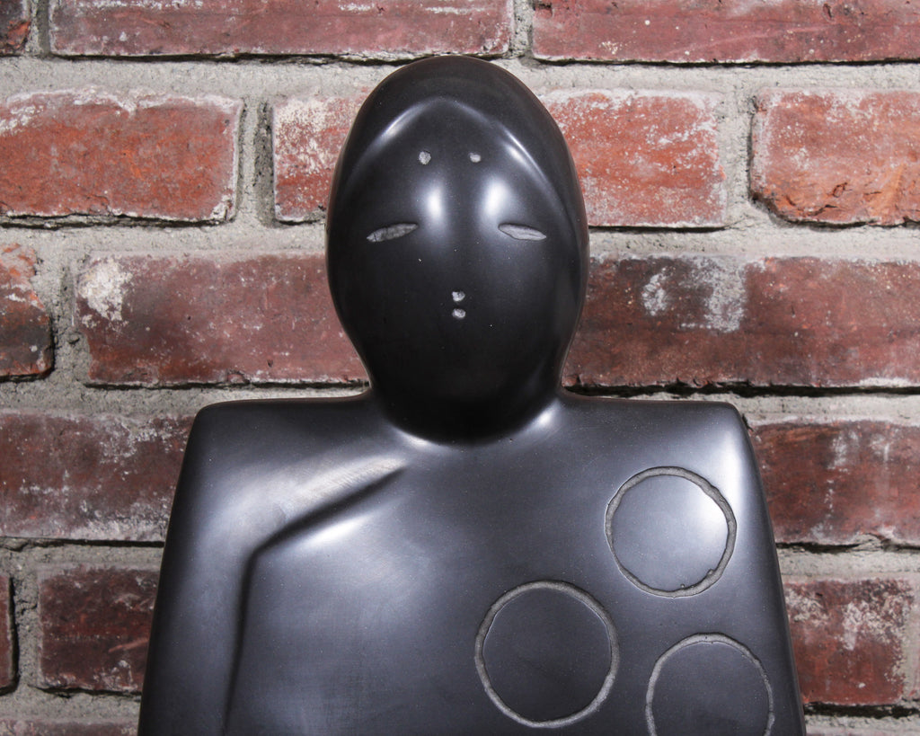"Masatoyo ""Kuki"" Kishi Limited Edition Cast Stone Sculpture"
