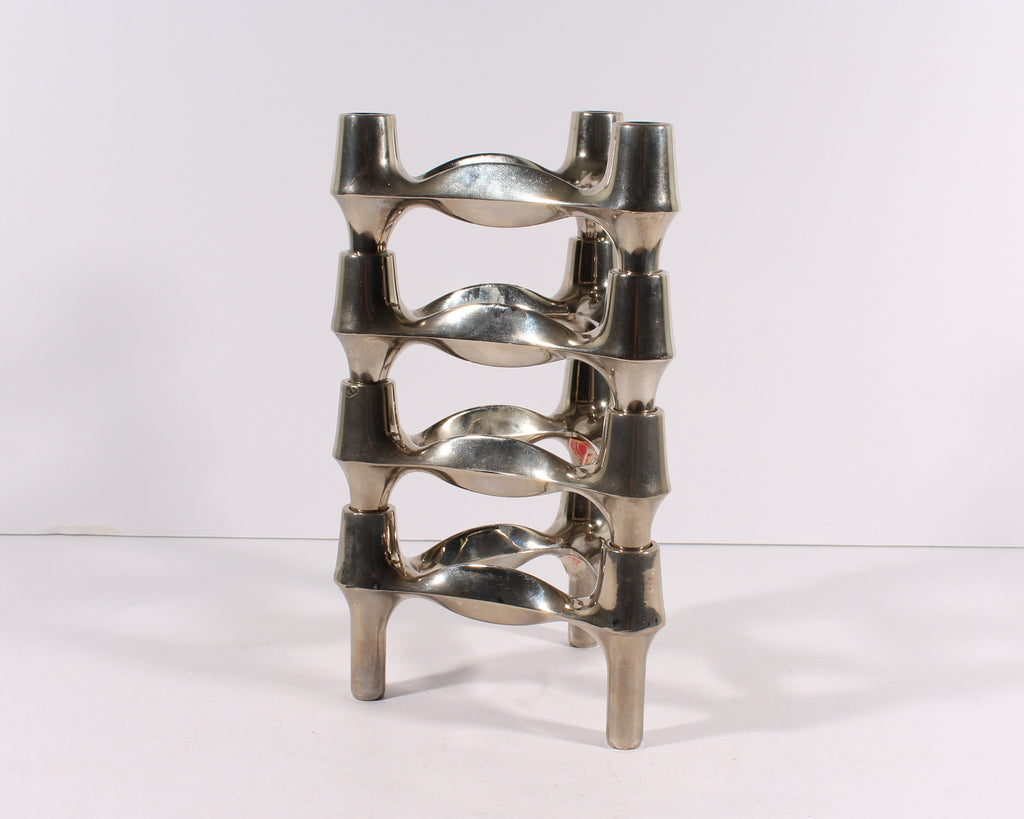 Fritz Nagel and Caesar Stoffi Modular Stackable Candlestick Holders