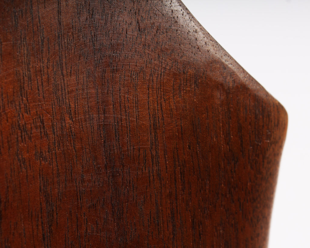 Klaus Otten Carved Walnut Abstract Biomorphic Sculpture