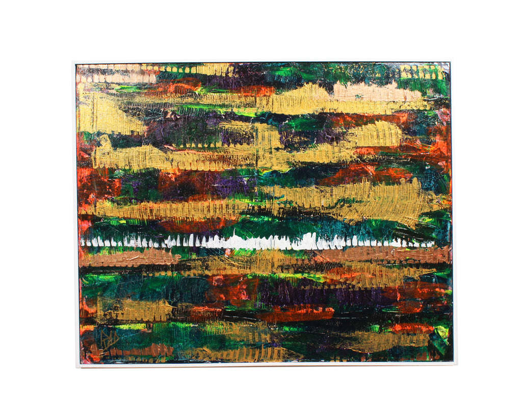 Richard A. Dull Acrylic on Canvas Abstract Painting