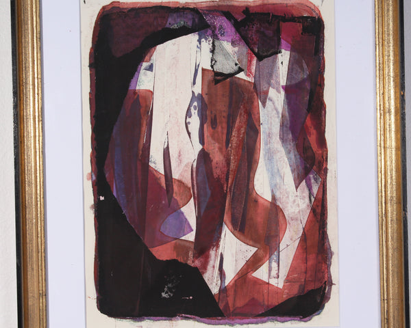 Paul Chidlaw Non-Objective Serigraph Print