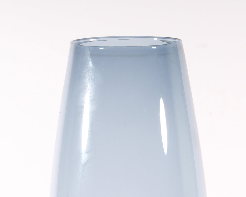 Tapio Wirkkala for Iittala Finnish 2790 Blue Glass Vase