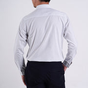 The Mini Polka Dot Slim Fit Shirt in White