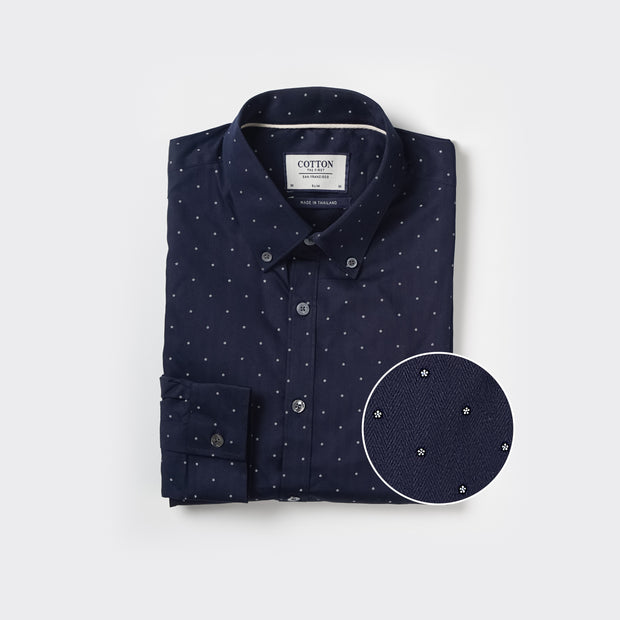 The Slim Fit Shirt x Petals