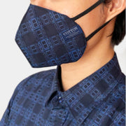 Reusable face masks made with three layers of cotton fabric, soft and comfortable, easy to breathe. Made in the USA.