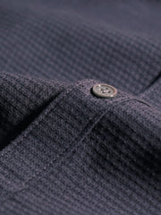 Textured Navy Shirt