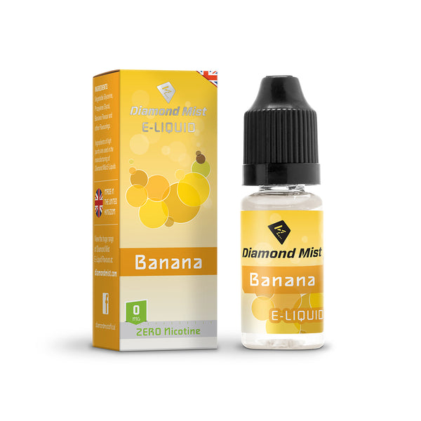 Diamond Mist Banana 0mg E-Liquid
