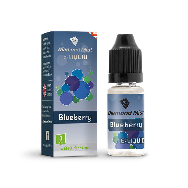 Diamond Mist Blueberry 0mg E-Liquid