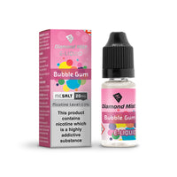 Diamond Mist Bubblegum 20mg Nic Salt E-Liquid