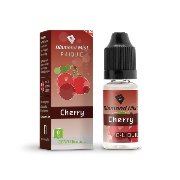 Diamond Mist Cherry 0mg E-Liquid