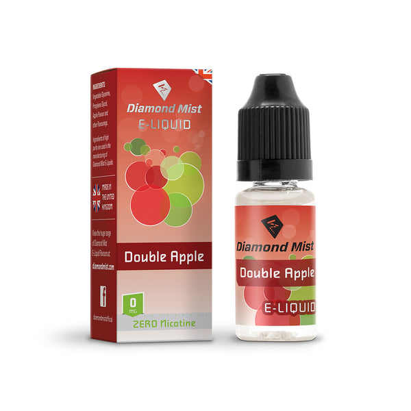 Diamond Mist Double Apple 0mg E-Liquid