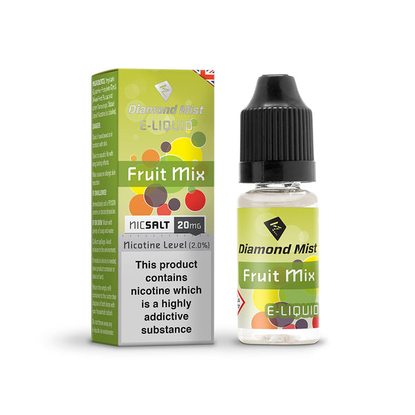 Diamond Mist Fruit Mix 10mg Nic Salt E-Liquid