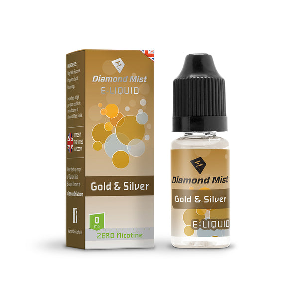 Diamond Mist Gold & Silver 0mg E-liquid
