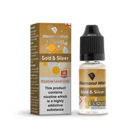 Diamond Mist Gold & Silver 18mg E-Liquid