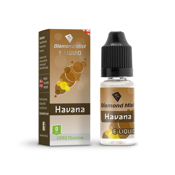 Diamond Mist Havana 0mg E-Liquid