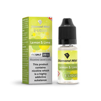Diamond Mist Lemon & Lime 20mg Nic Salt E-Liquid