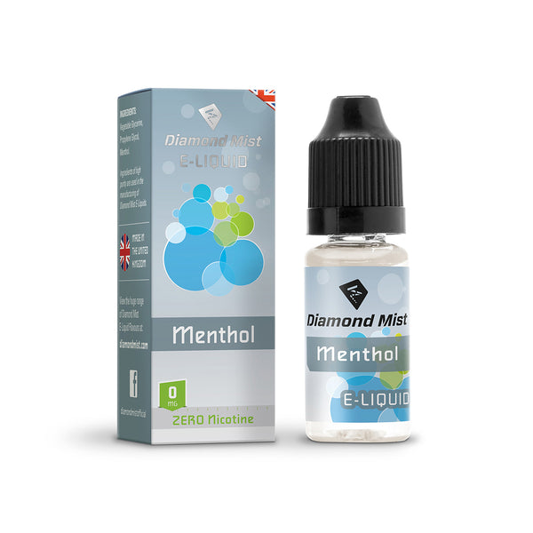 Diamond Mist Menthol 0mg E-Liquid