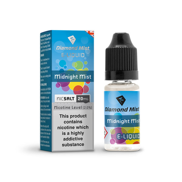 Diamond Mist Midnight Mist 20mg Nic Salt E-Liquid
