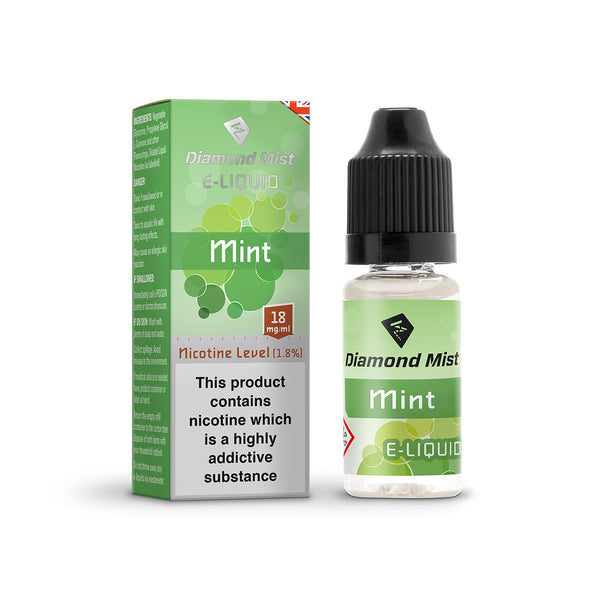 Diamond Mist Mint 18mg E-Liquid