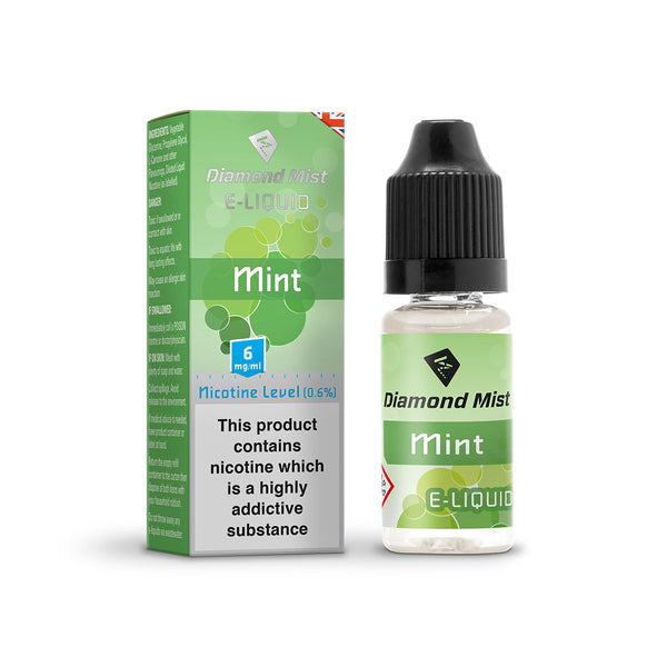 Diamond Mist Mint 6mg E-Liquid