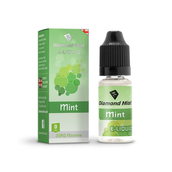 Diamond Mist Mint 0mg E-Liquid