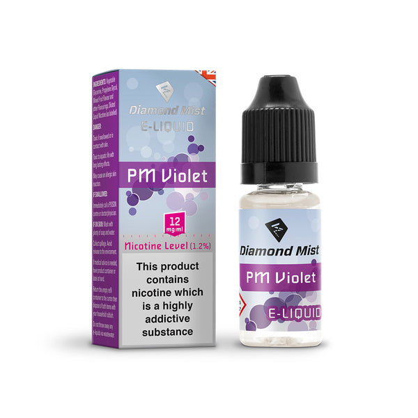 Diamond Mist PM Violet 12mg E-Liquid