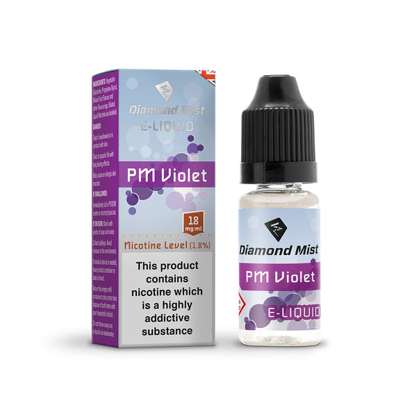 Diamond Mist PM Violet 18mg E-Liquid
