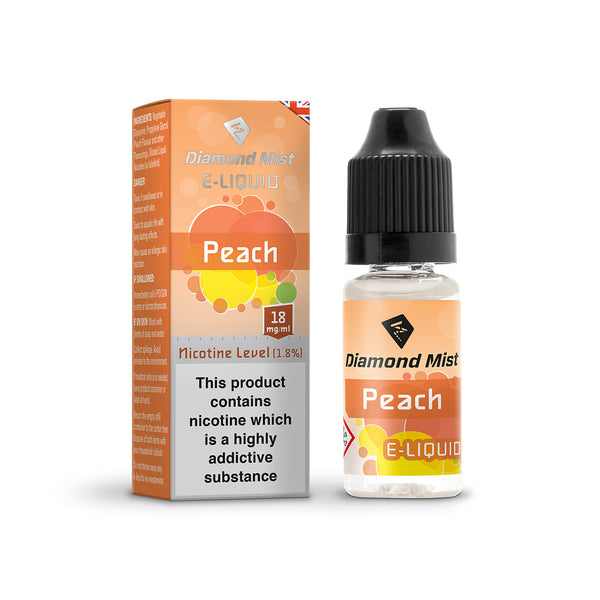 Diamond Mist Peach 18mg E-Liquid