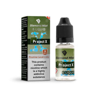 Diamond Mist Project X 18mg E-Liquid
